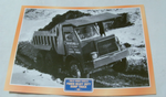 Foden Heavy Duty Dump Truck 1961 framed picture